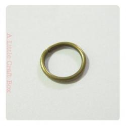 35 Anneaux ouverts 9mm - bronze