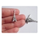 "1 breloque ""Tour Eiffel"" - argent vieilli"