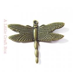 "1 pendentif ""libellule"" - bronze"
