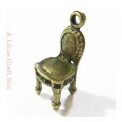 "1 breloque ""chaise"" - bronze"