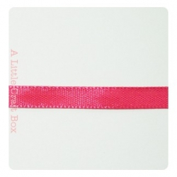 1m Ruban en satin 6mm - fushia