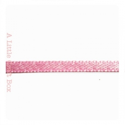 1m Ruban en satin 3mm - rose pastel
