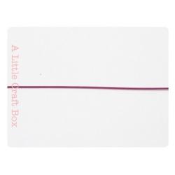 1m de cable en acier 0,38mm - violet