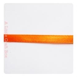 """1m Ruban """"satin"""" 6mm - orange"""