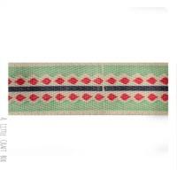 50cm  ruban en coton Geometrique 25mm