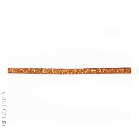 1m de suedine imitation daim 3mm - chocolat