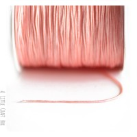 5m de fil de nylon 0.8mm - rose saumon
