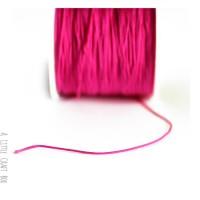 5m de fil de nylon 1mm - fushia