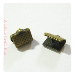 10 griffes 8x8mm - bronze