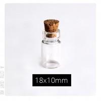 1 fiole en verre 18x10mm ( piton au choix )