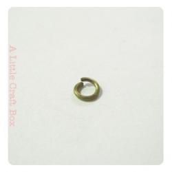 100 Anneaux ouverts 4mm - bronze