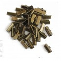 [ GROS LOT ] 100 griffes 17x8mm - bronze