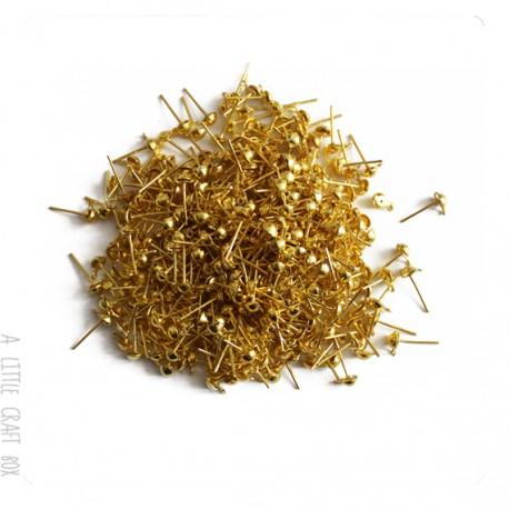 300 clous à bille or