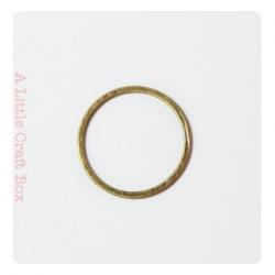 1 Anneau fermé 16mm  bronze
