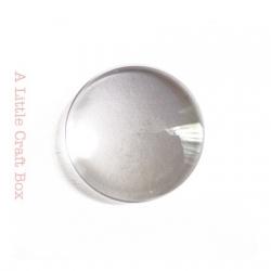 1 cabochon en verre 20mm