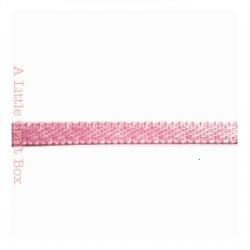 1m Ruban en satin 3mm - rose pastel