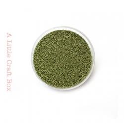 10g micro bille en verre - vert