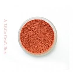 10g micro bille en verre - orange