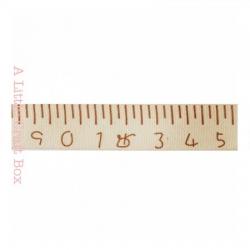 """1m ruban en coton """"mètre ruban  """" 15mm"""