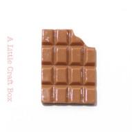 "1 cabochon "" chocolat """
