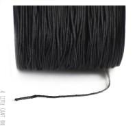 5m de fil de nylon 1mm - noir
