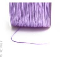 5m de fil de nylon 1mm - mauve