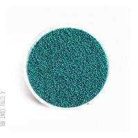 10g micro bille en verre - turQUOISE