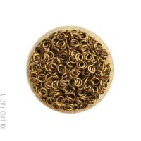 [ GROS LOT ] 1000 Anneaux ouverts 4mm  - bronze