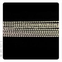 [ GROS LOT ] 10m  chaine à bille 2.4mm -  argent