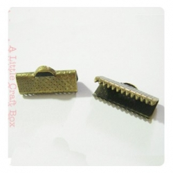 10 griffes 16x7.5mm - bronze