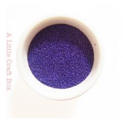 10g micro bille en verre -  violet