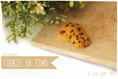 Tutoriel : Cookie en pâte FIMO