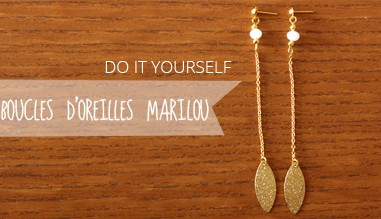 do it yourself boucle d'oreille
